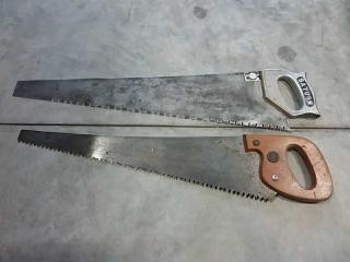 2 hand saws