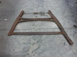 Vintage buck saw