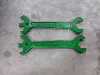 2 wrenches