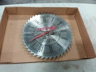 Skilsaw Saw blade Clock