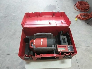 Hilti PR 20 Rotatig Lasor Level with Hilti PRA 20