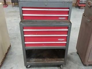 Craftsman 5 drawer tool box on wheels