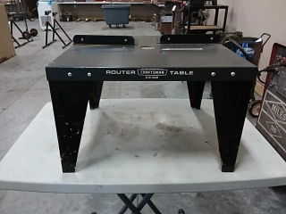 Craftsman router table #25168