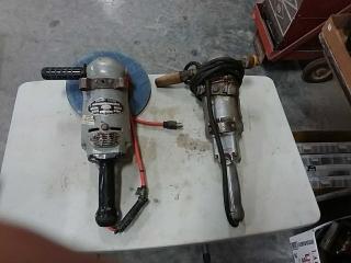 2 Electric sanders - B&D, Portable electric