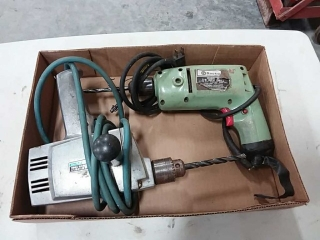 2 electric drills - Rockwell, GE