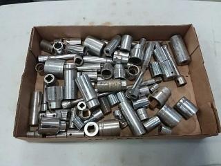 assortment of sockets