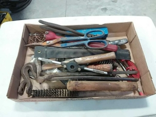 assortment of wrenches and hand tools