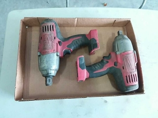 "Milwaukee 1/2""and 3/4"" impact wrenches"
