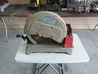 "Milwaukee 14"" Dry-Cut machine"