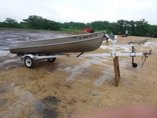 1965 Aluma Craft 14ft Aluminum Boat