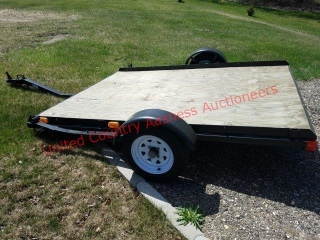 Factory Made Steel 68 Utility Trailer