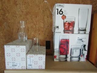 Glassware new: wine carafes, wine jugs,
