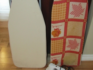 Mini iron boards and Toastmaster  steam iron