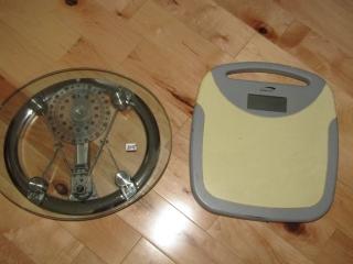 Pair of bathroom scales
