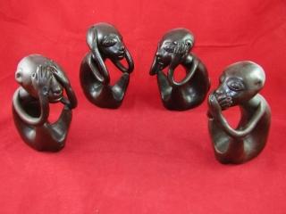 Trio: Monkey see, Monkey hear, Monkey speak