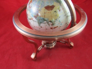 Globe  With Compass in stand