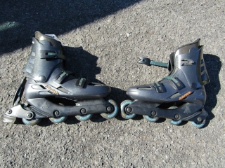 Roller blade size  9  Made in Italy