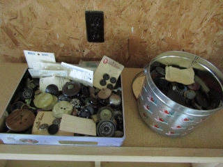 Vintage buttons 2 tins full