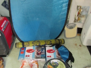 2 Rivers tubes,  hammock, beach beds, yoga mat,