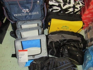 Assorted bags: 2 computer, totes, insulated bags,