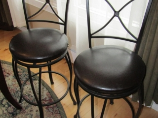 Pair of Bar stools swivel