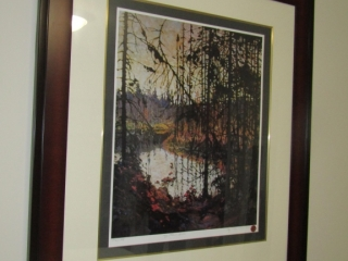 Tom Thomson LE print 1342/4995 Titled