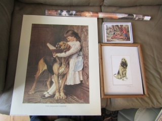 Reading Lesson Print, another signed Roger, note