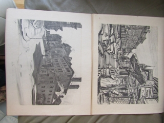 """2 signed prints by R.D. Wilson, 12"""" x 15"""""""