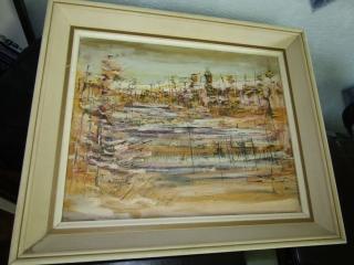 "Oil on Canvas 15.5"" x 19.5"""