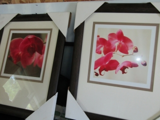 """Pair of prints  signed 11"""" x 11"""""""