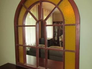 "Antique wall mirror 40.25"" x 46.5"""