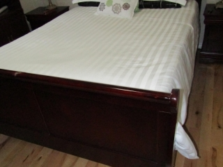 Queen Bed with headboard and foot board
