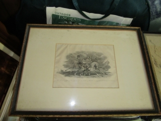 Group of  5 lithographs most framed
