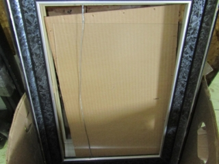 Box lot of picture frames some new