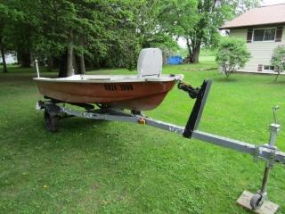 Shampoux marine Model Pinto fishing boat - 12 ft