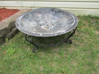 """Copper Fire pit 29.5"""" diameter"""