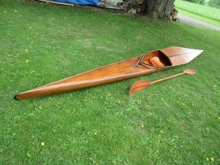Danish  Flat  water Racing K1 Olympic stlye Model