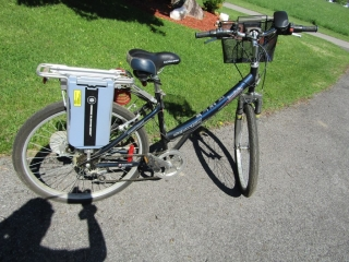 Schwinn   Invidia  Electric Bicycle with basket