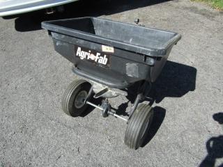 Pull behind Agri-Fab seeder/fertilizer
