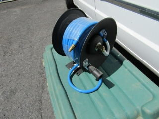 Air hose on reel by Mastercraft new