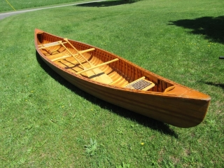 Canoe  with paddles 15 ft. 10 inches