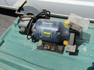 Mastercraft wet and dry grinder