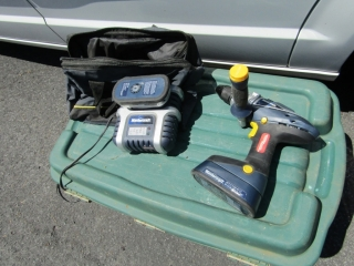 Mastercraft cordless drill with charger and