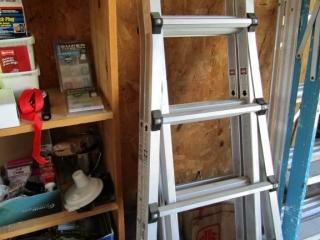 Aluminium  Vulcan ladder