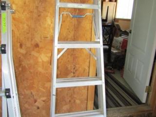 Reynolds Aluminium step ladder 6 ft.