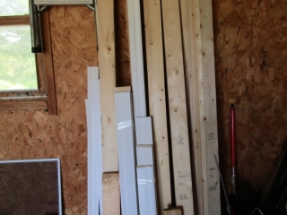 "Lumber including 6 - 2""  x 4"""