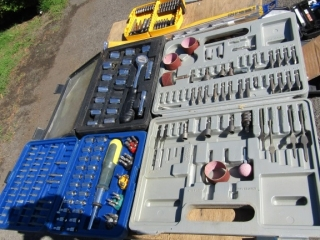 Dewalt drill bits, JObmate rachel set, Tool Tech