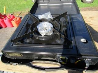 Portable gas stove by Martin
