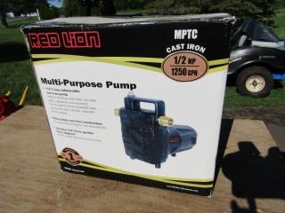 Multi purpose pump new