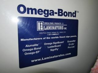 2- 4 x 8  sheets Omega -Bond plastic